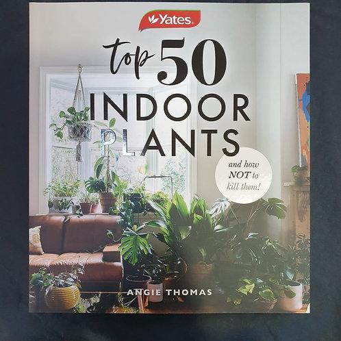Top 50 Indoor Plants - Book