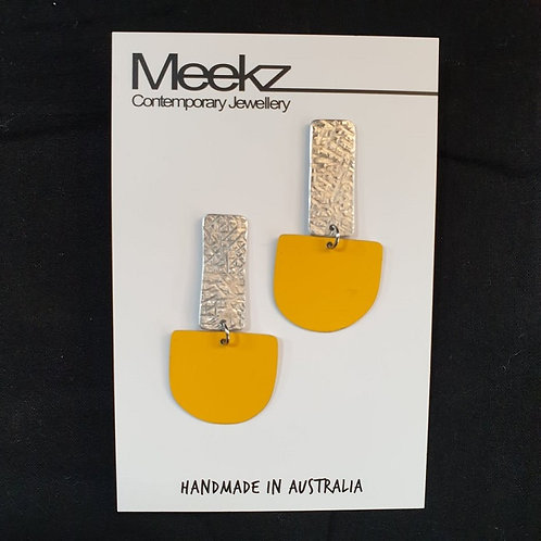 Meekz Jewellery- Statement 2 Tier Drop Studs