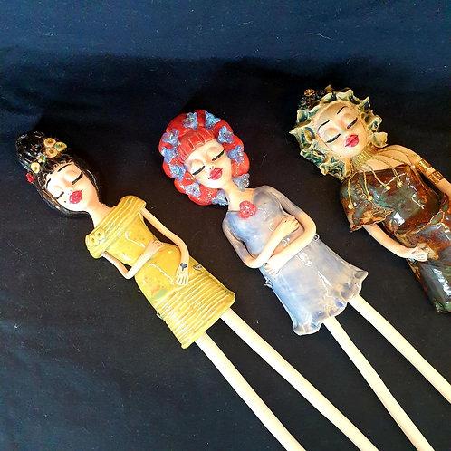 Mandy Lou Wall Hanging Dolls