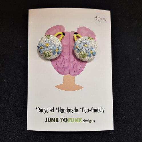 Recycled Hair Ties - Junk to Funk