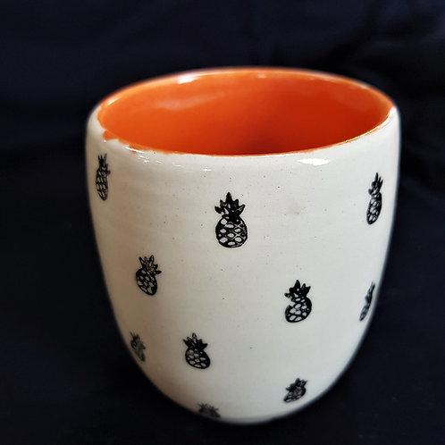 Dovella - Pineapple Mug without Handle