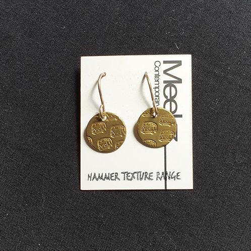 Meekz Jewellery- Brass Kombi Studs