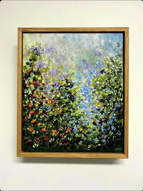 Violet Leaves - Artwork