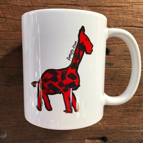 Amy's Zoo Mug - Giraffe/Elephant