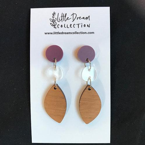 Triple Drop Earrings - Little Dream Collection