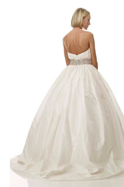 THE COTTON BRIDE - STYLE B1071 - BACK