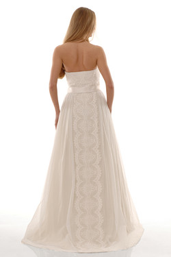THE COTTON BRIDE - STYLE B1083 - BACK