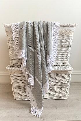 Halo Luxury Spanish Blanket (Grey)