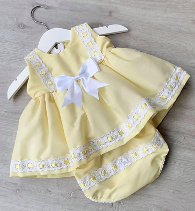 Dress and Panites (Lemon)