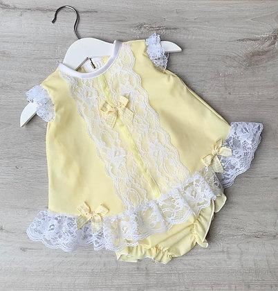 Lemon lace set