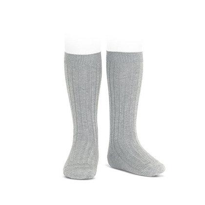 Condor Ribbed Socks Grey