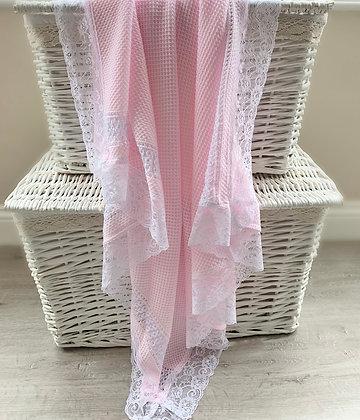 Paris Luxury Blanket (Pink)