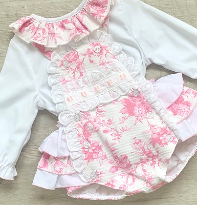 Evie Blouse and Romper