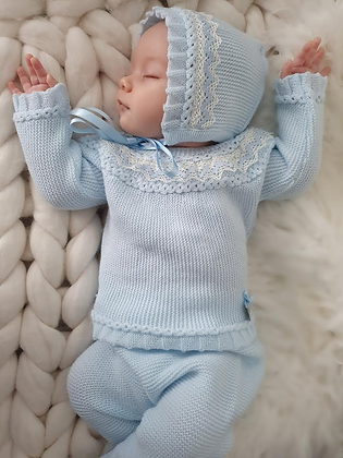 Lorenzo Luxury Set (Baby Blue)