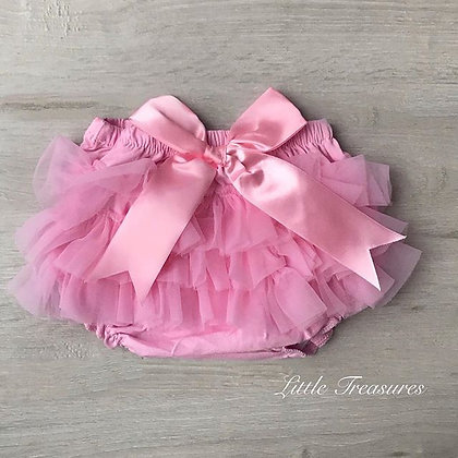 Frilly pink tutu knickers