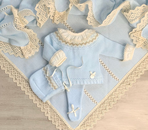 Cecil luxury knitted set