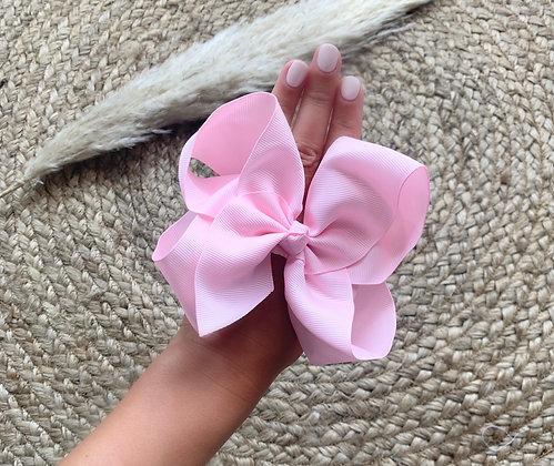 6 inch Bow Headband (Baby Pink)