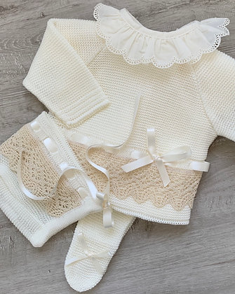 Bronte Luxury 3 piece (Cream)