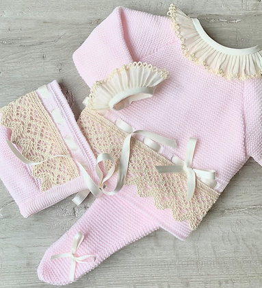 Bronte luxury 3 piece (Pink)