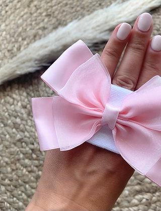 Bow headbands Pink
