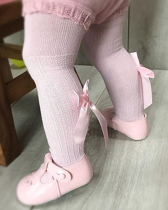 Baby girl bow tights