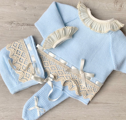 Bronte luxury 3 piece set (Baby Blue)