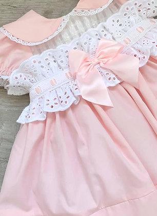 Blue Bell Dress - Baby Pink
