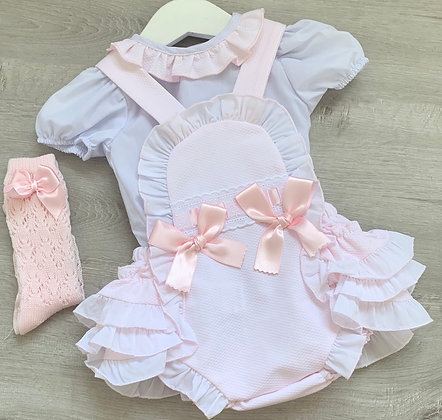 Harriet Blouse and Romper