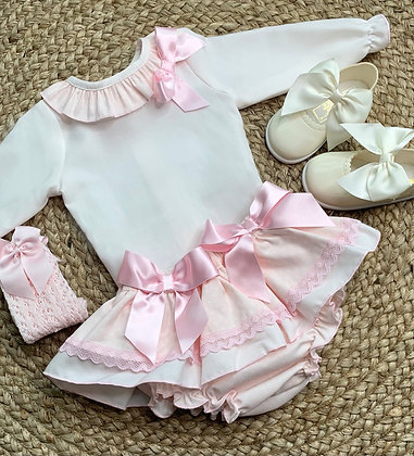 Colette Blouse and Bow Skirt