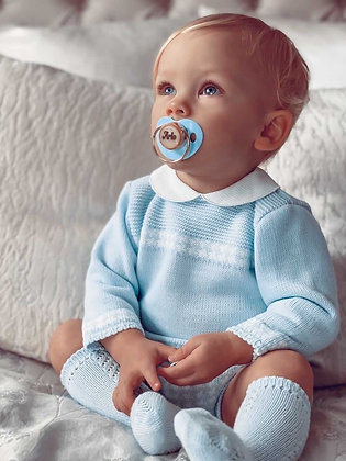 Harold knitted 2 piece (Baby Blue)