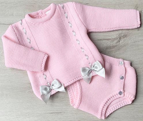 Pink and Grey Marlow Set