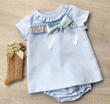 Ocean Dress and Panties