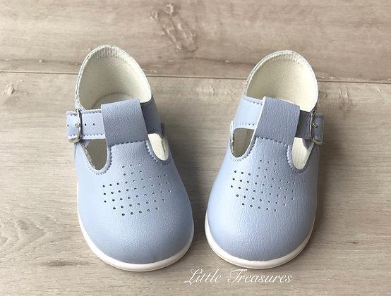 Hard sole Shoes (Blue)