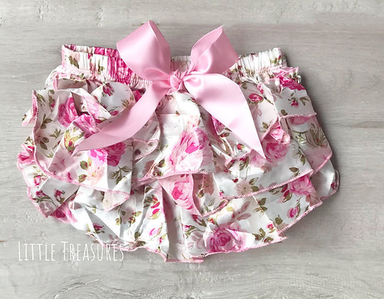 Floral frilly tutu knickers