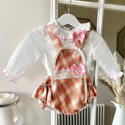 Autumn Blouse and romper