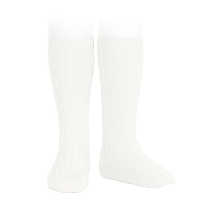 Condor Ribbed Socks Cream