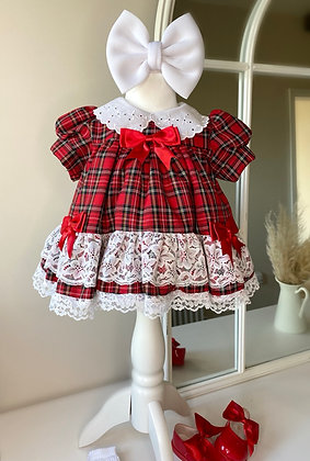 Dolly Tartan Dress
