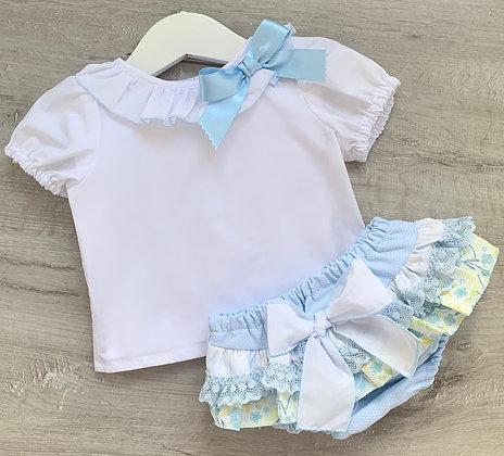 Tulip Blouse and pant Set