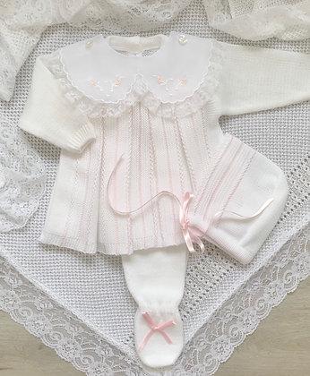 Luxury Melody set (white/ Pink )