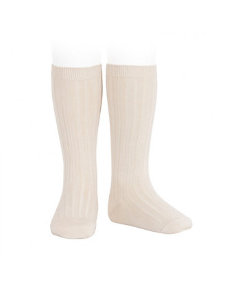 Condor Ribbed Socks Cream