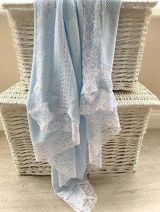Paris Luxury Blanket (Blue)