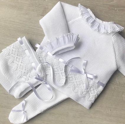Bronte Luxury 3 piece (White)