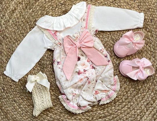 Renaè Blouse and Romper Set