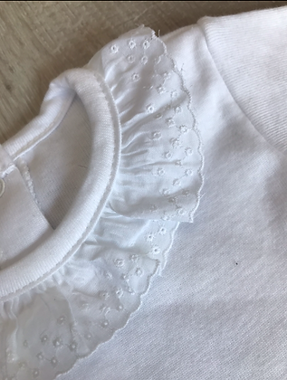 Frilly collar body suits, (Short sleeves)