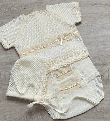 Marco knitted Top Only  (Cream)