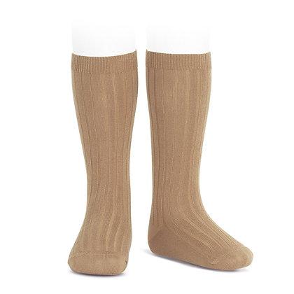 Condor Ribbed Socks Camel