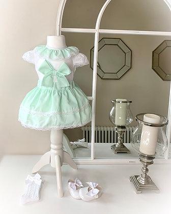 Mint Green Bow Set