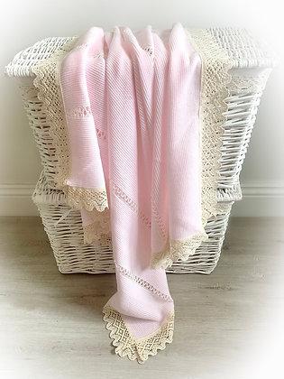 Bronte Spanish Blanket (Pink)