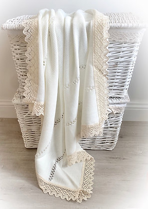 Bronte Spanish Blanket (Cream)