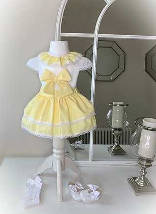 Sunshine Yellow Bow Set